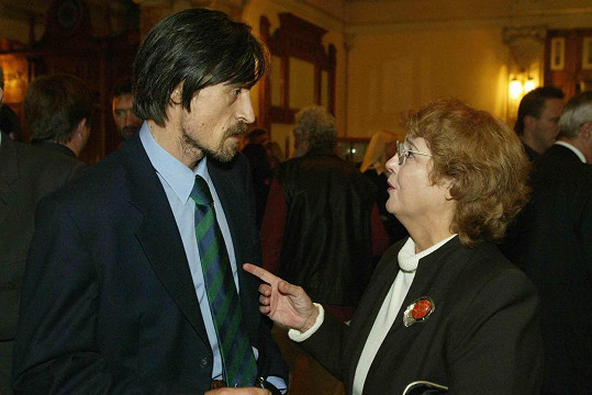 Turzonovová s Martinem Stropnickým v roce 2003
