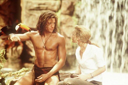 Brendan Fraser jako král džungle George v komedii z roku 1997