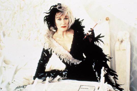 Cruellu de Vil ztvárnila ve snímku 101 dalmatinů z roku 1996 Glenn Close.