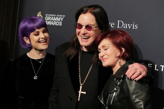 S manželkou a dcerou Kelly