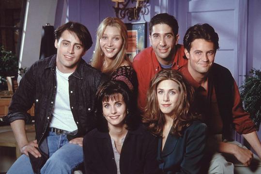 David Schwimmer jako Ross v seriálu Přátelé