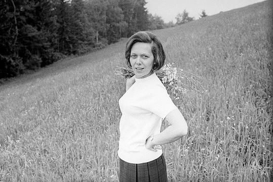 Jiřina Jirásková v roce 1968
