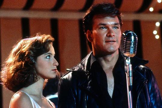 S Jennifer Grey ve svém nejslavnějším filmu Hříšný tanec (1987)