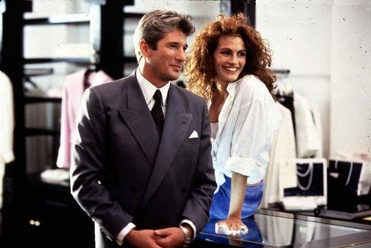 Julia Roberts a Richard Gere ve filmu Pretty Woman (1990)
