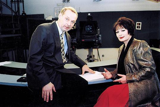 Skvělá novinářka, profesorka a moderátorka byla ikonou Televizních novin, které po boku Zbyňka Merunky moderovala 6 let.