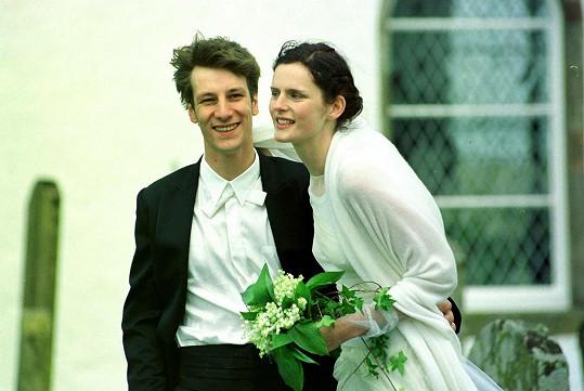 Stella Tennant po svatbě s Davidem Lasnetem