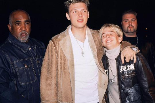 Nick s Aaronem (archivní snímek)