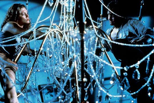 Slavná scéna na lustru ze záverečné části filmu