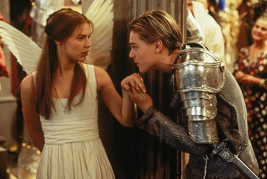 Claire a Leonardo ve filmu Romeo a Julie (1996)