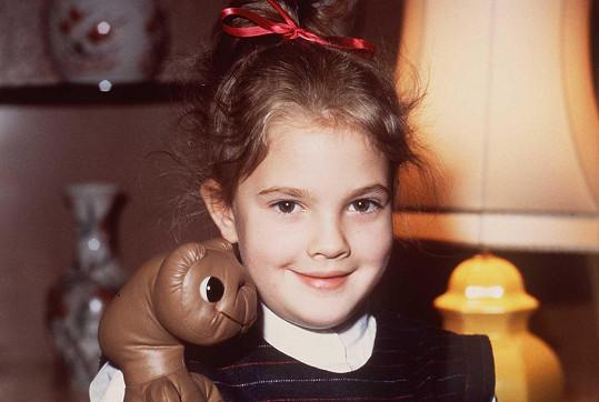 Drew se proslavila už jako děvčátko.