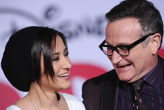 Williams se svou milovanou dcerou Zeldou