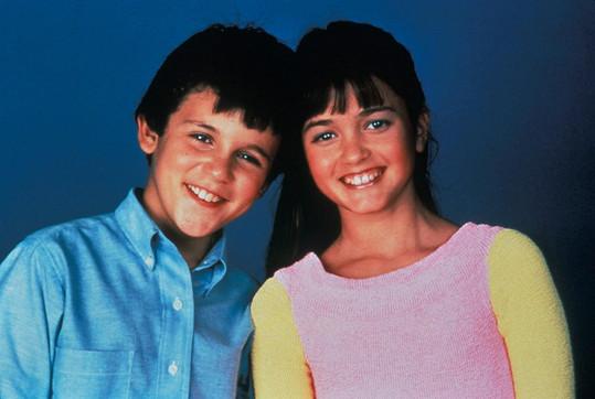 Fred Savage a Danica McKellar v Báječných letech (1989)