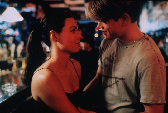 Jako Skylar ve snímku Dobrý Will Hunting vedle Matta Damona