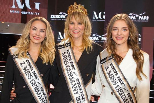 Na druhém a třetím místě skončily dívky výrazně mladší.