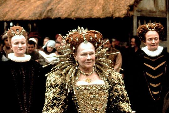 Zamilovaný Shakespeare. Za roli královny Alžběty I. dostala Oscara.