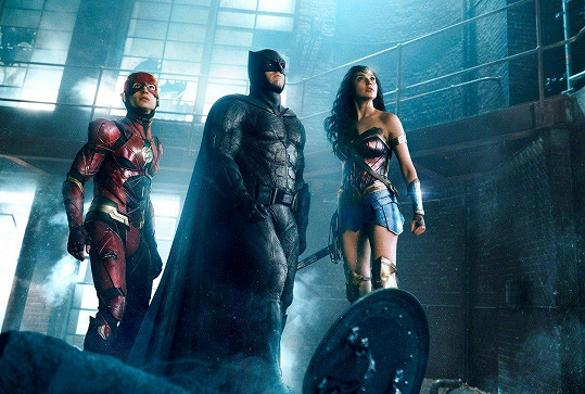 Ben jako Batman ve filmu Liga spravedlnosti