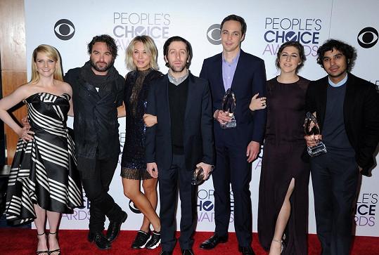 Seriál Teorie velkého třesku bodoval hned ve dvou kategoriích na People's Choice Awards.
