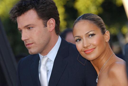 Jennifer Lopez a Ben Affleck tvořili pár před 17 lety.