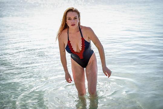 Takhle vypadá Lindsay na snímcích, které sama vypustí do světa...