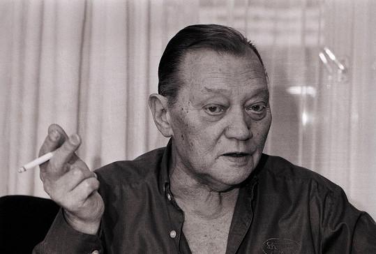 Rudolf Hrušínský by se letos dožil sta let.