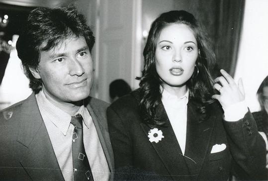 Ivana Christová s někdejším partnerem na archivní fotce