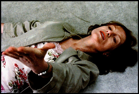 Isabelle Huppert ve filmu Pianistka (2001)