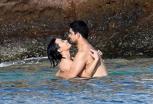 Demi Lovato vzala partnera na ostrov Svatý Bartoloměj.