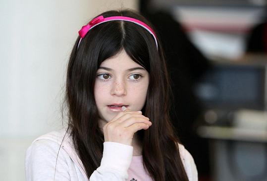 Kylie Jenner si malovala ústa už jako malá holka.