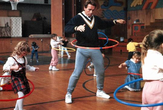 Nakonec si ale natáčení s dětmi oblíbil.