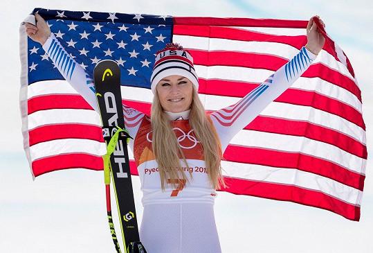 Lindsey Vonn letos ukončila úspěšnou lyžařskou kariéru.