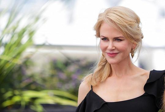 Krásná, osudová Nicole Kidman v Cannes 2017