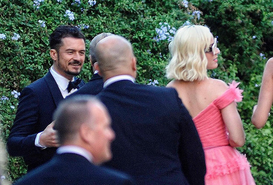 Nechyběl ani Orlando Bloom a Katy Perry.