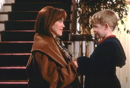 Jako maminka malého Kevina v rodinné komedii Sám doma