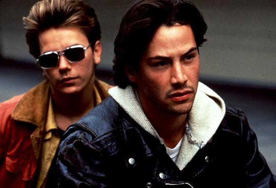 River Phoenix měl život před sebou. Na snímku s Keanu Reevesem (vpravo) ve filmu Mé soukromé Idaho