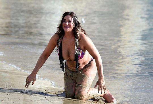 Plážová bohyně z ní nikdy nebude.