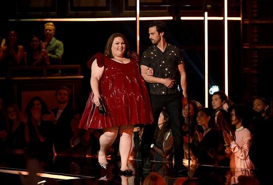 Chrissy na udílení MTV Movie and TV Awards