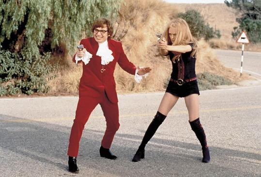 Mike Myers se proslavil komediální sérií Austin Powers.