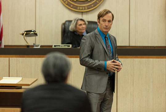 Herec je hlavní hvězdou seriálu Volejte Saulovi.