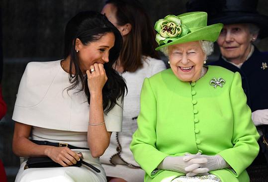 Díky královně se prý vždy cítila vítaná.