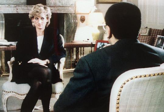 V televizním rozhovoru Diana promluvila o manželských potížích.