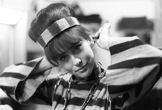 Marie Málková v 60. letech
