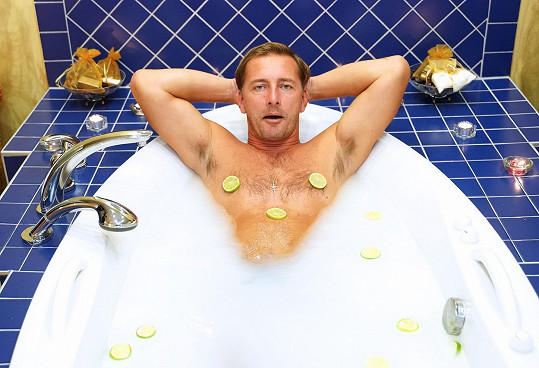 Petr Vondráček si užíval zaslouženého relaxu.