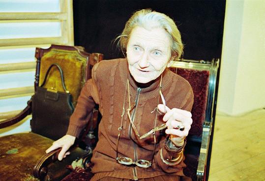 Valerie Kaplanová byla výraznou postavou především pardubické divadelní scény.