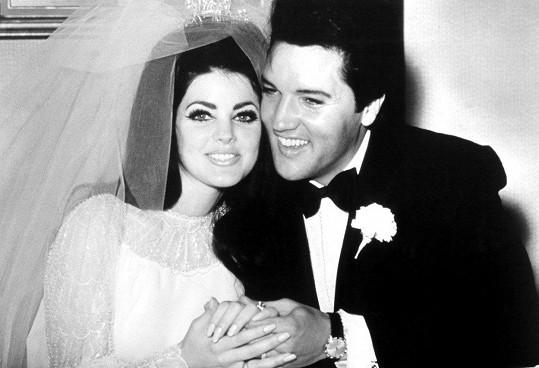 Svatební foto s Elvisem z roku 1967