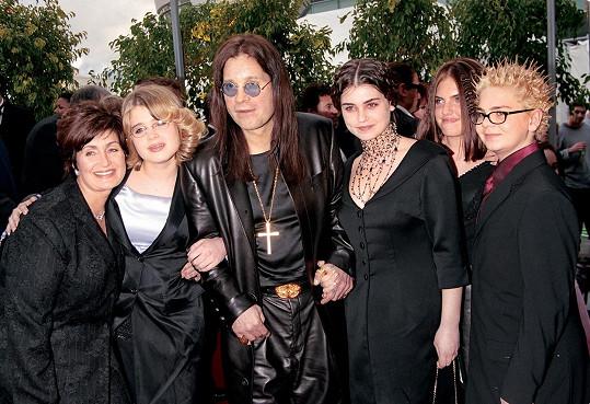 Slavná rodinka Osbournových na archivním snímku