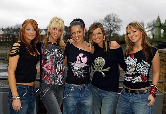 Cheryl Cole začínala se zpěvem ve skupině Girls Aloud.