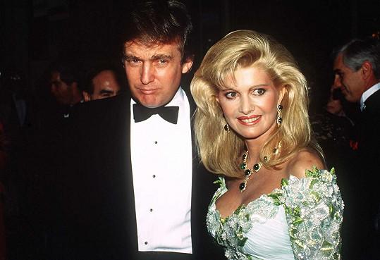 Donald Trump a Ivana Trump v roce 1985