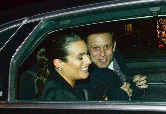Lea Michele se zasnoubila s podnikatelem Zandym Reichem.