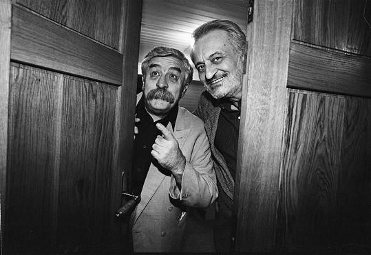 Milan Lasica a Július Satinský tvořili nerozlučnou dvojku.