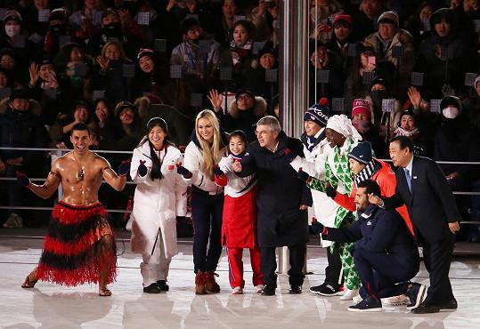 Ani na zimní olympiádu se Tongan neoblékl jinak než podle tradic své země.